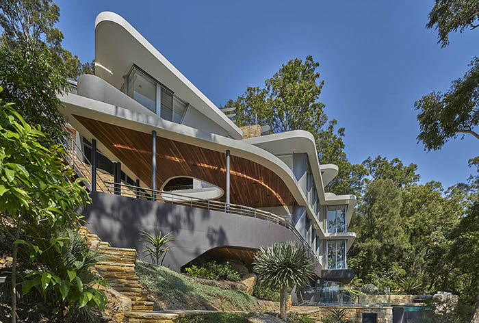 Avalon Residence - View from below