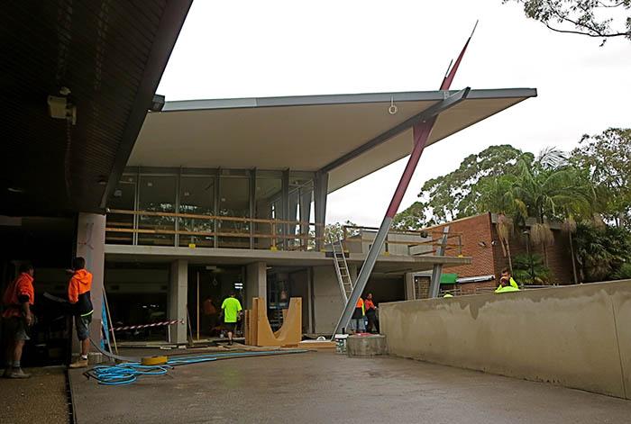 Glen Street Theatre - Building Phase