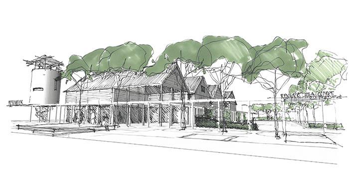 Renwick Community Centre - Drawing