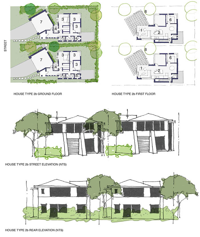 Coffs Harbour Subdivision - Elevation & Plan