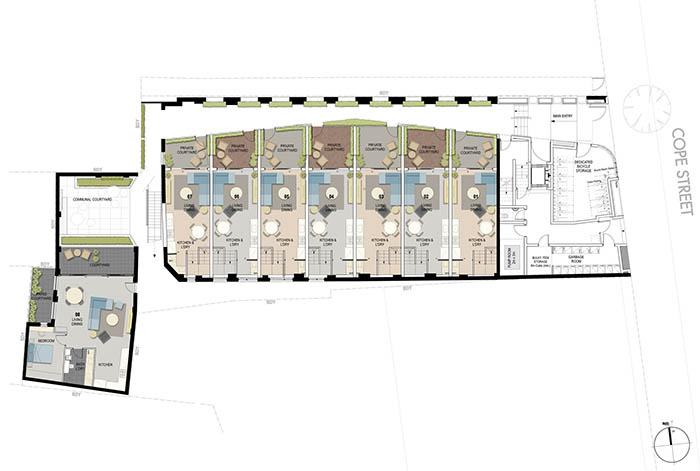 Cope Street Waterloo - Plan