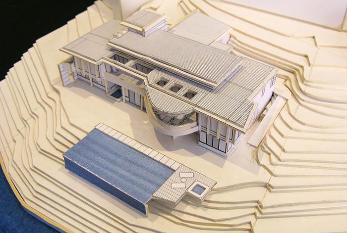 Newport residence - Model