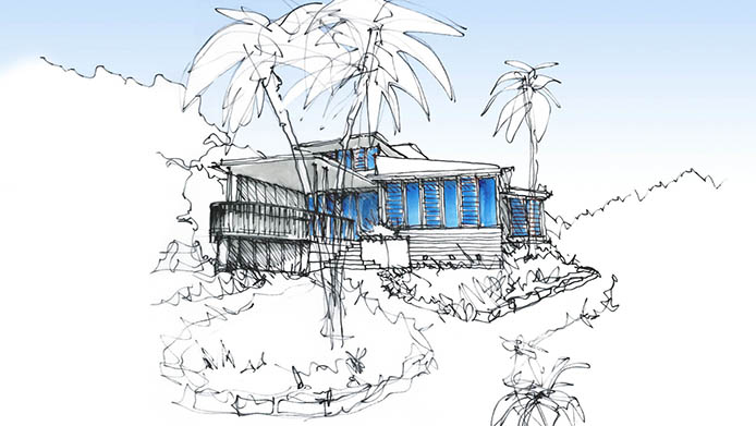 Mona Vale Residence - Drawing Perspective