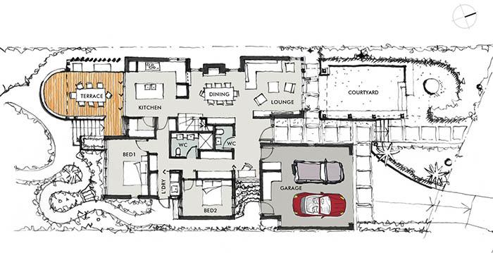 Mona Vale Residence - Plan