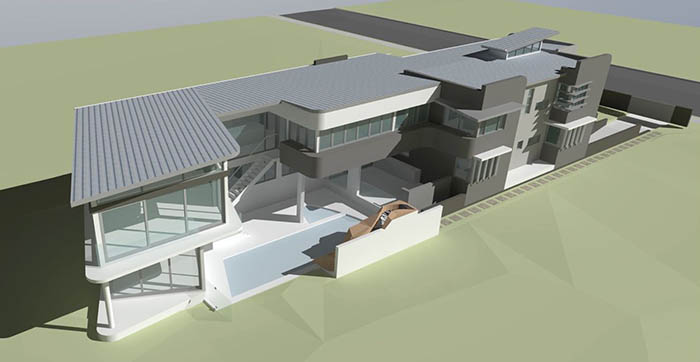 Narrabeen Beach Residence - perspective