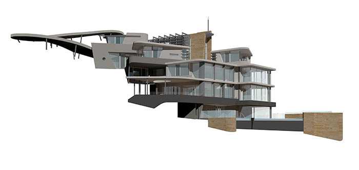 Avalon residence - perspective