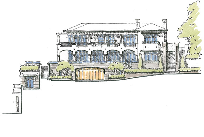 Darling Point Residence - Drawing