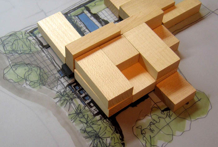 Curl Curl Residence - Model