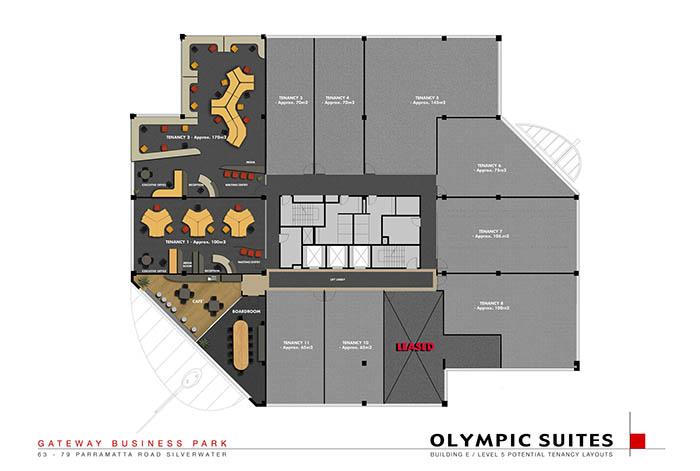 Gateway Business Park floorplan